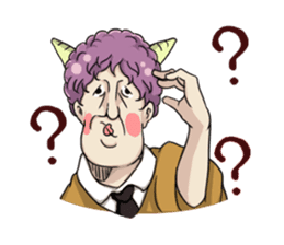 [Funny Face Stamp] sticker #113136
