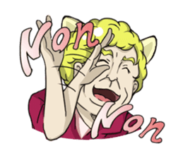 [Funny Face Stamp] sticker #113137