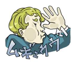 [Funny Face Stamp] sticker #113143