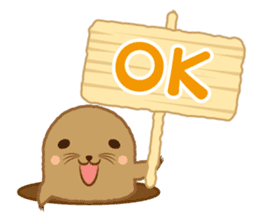 yuruyuru Animals sticker #113285