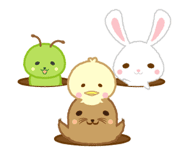 yuruyuru Animals sticker #113304