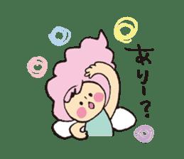 Angel stamp LOVE sticker #113428
