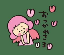Angel stamp LOVE sticker #113436