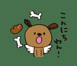 Angel stamp LOVE sticker #113446