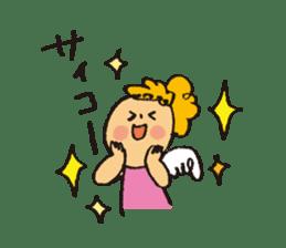 Angel stamp LOVE sticker #113447