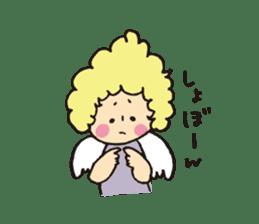 Angel stamp LOVE sticker #113449