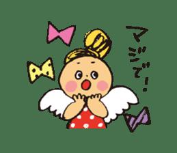 Angel stamp LOVE sticker #113457