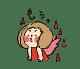 Angel stamp LOVE sticker #113459