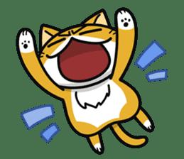 Torajiro The Cat sticker #113951