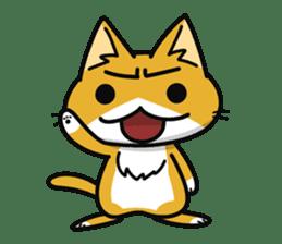 Torajiro The Cat sticker #113964