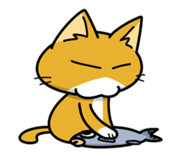 Torajiro The Cat sticker #113969