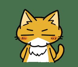 Torajiro The Cat sticker #113975