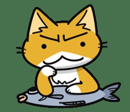 Torajiro The Cat sticker #113977