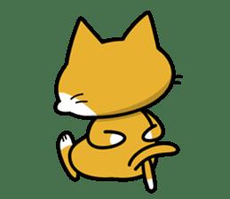 Torajiro The Cat sticker #113986
