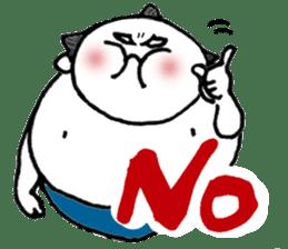 DOSKOI Sumo Wrestler!! sticker #114071