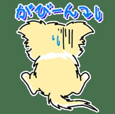 CHINAKO's EVERYDAY  - CHINAKO THE DOG - sticker #114378