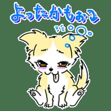 CHINAKO's EVERYDAY  - CHINAKO THE DOG - sticker #114383