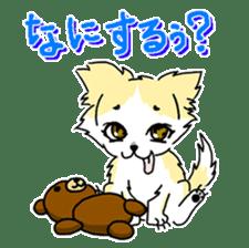 CHINAKO's EVERYDAY  - CHINAKO THE DOG - sticker #114385