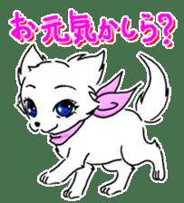 CHINAKO's EVERYDAY  - CHINAKO THE DOG - sticker #114392