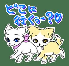 CHINAKO's EVERYDAY  - CHINAKO THE DOG - sticker #114394