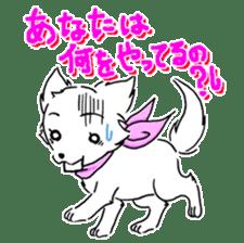 CHINAKO's EVERYDAY  - CHINAKO THE DOG - sticker #114396