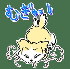 CHINAKO's EVERYDAY  - CHINAKO THE DOG - sticker #114399