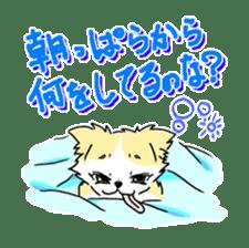 CHINAKO's EVERYDAY  - CHINAKO THE DOG - sticker #114404