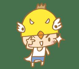 Super chickman sticker #114772