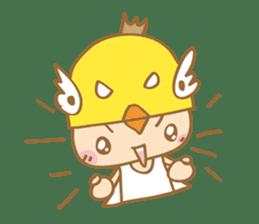 Super chickman sticker #114790