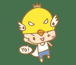 Super chickman sticker #114803
