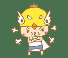 Super chickman sticker #114806