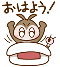 MIMIZUKUN and IMOTAN sticker #114940