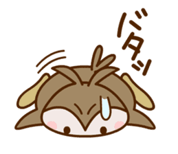 MIMIZUKUN and IMOTAN sticker #114957