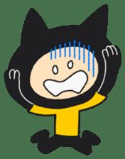a cat named SAHARI sticker #115438
