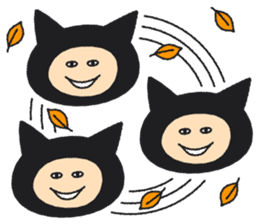 a cat named SAHARI sticker #115451