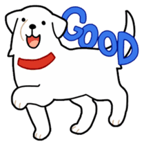 A Dog Called SHIRO sticker #115732
