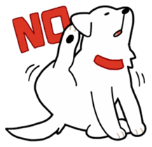 A Dog Called SHIRO sticker #115734