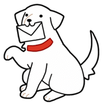 A Dog Called SHIRO sticker #115737