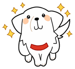 A Dog Called SHIRO sticker #115741