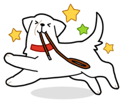 A Dog Called SHIRO sticker #115742