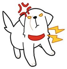 A Dog Called SHIRO sticker #115744