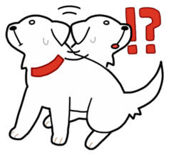 A Dog Called SHIRO sticker #115748