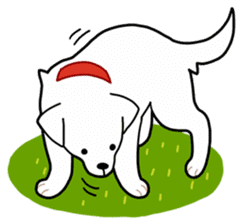 A Dog Called SHIRO sticker #115750
