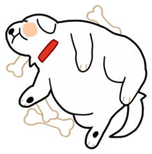 A Dog Called SHIRO sticker #115752