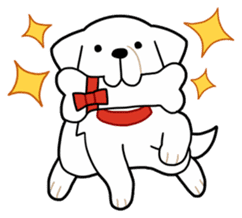 A Dog Called SHIRO sticker #115756