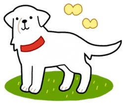 A Dog Called SHIRO sticker #115763
