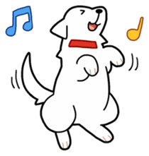 A Dog Called SHIRO sticker #115768
