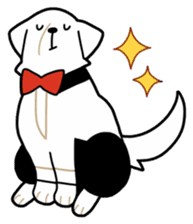 A Dog Called SHIRO sticker #115769