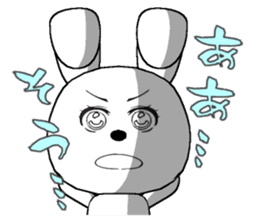 The rabbit which is full of expressions3 sticker #115852