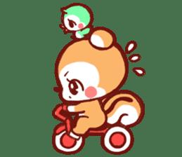 marron's pop animals sticker #116108